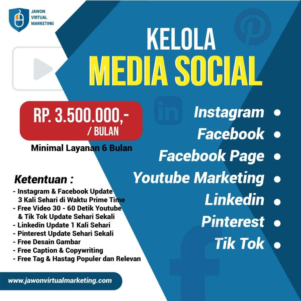 Penyedia Jasa Social Media Management