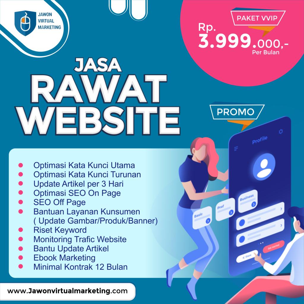 jasa rawat website