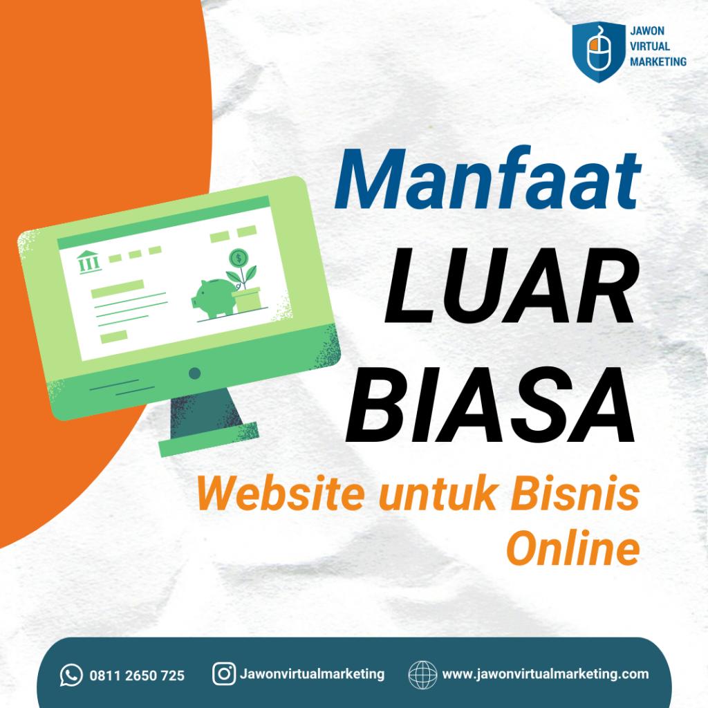Fungsi website untuk bisnis online