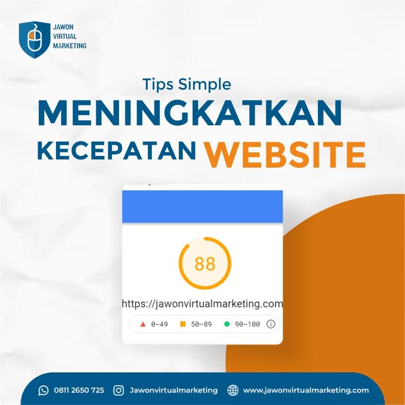 Tips Meningkatkan Kecepatan Website (SIMPEL)