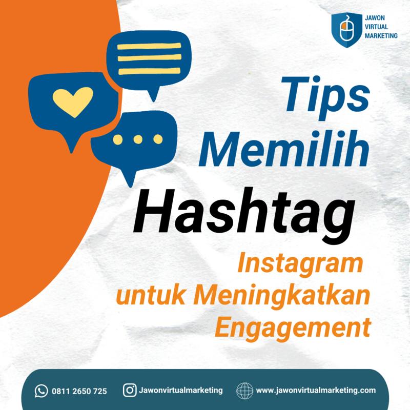 Tips memilih hashtag instagram
