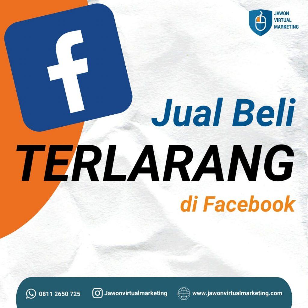 Jual beli terlarang di Facebook