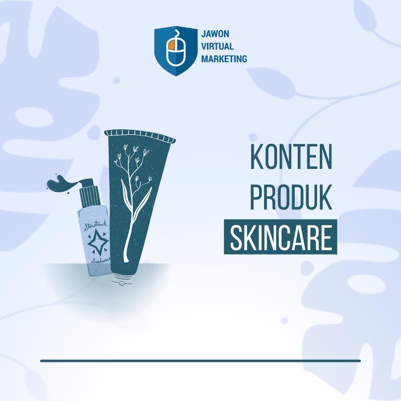 Konten Produk Skincare