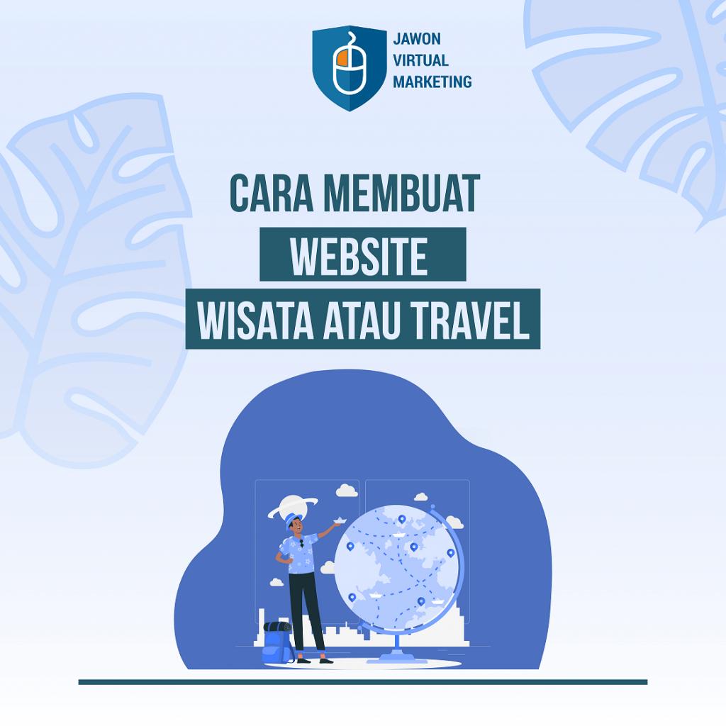 Cara membuat website wisata