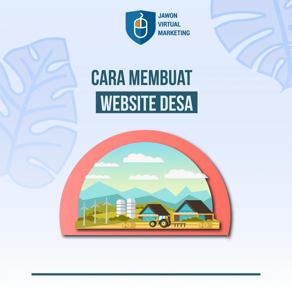 Panduan membuat website desa